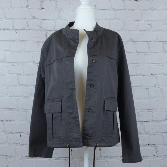 Sanctuary Jackets & Blazers - NWT SANCTUARY Hem Cord Jacket in Charcoal Blk